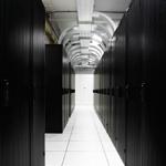 Racks at Server Co-Location Area